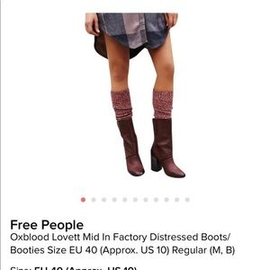 Free People mid-calf boot